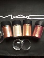 Mac cosmetics Pigment-Sample-Set 4 Stück a 0,4 gr, SOMMERFARBEN