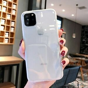 Crystal Clear Case For iPhone 12 XR 11 Pro Max X XS 6s 8 7 Plus Shockproof Cover