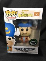 Animation The Flintstones Fred Flintstone Popcultcha Exclusive Funko Pop Vinyl