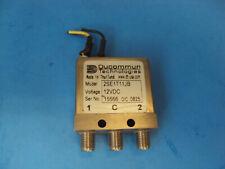 1-QTY Ducommun RF Relay SMA DC to 26.5 GHz 12V DC Improved 2SE1T11JB  latch rela