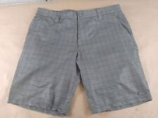 Oakley Men's Gray Outdoors Athletic Hiking Golf Summer Shorts Sz 38W