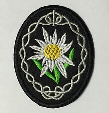 WWII GERMAN MOUNTAIN TROOPS EDELWEISS SLEEVE INSIGNIA PATCH -1176
