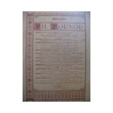 GOUNOD Charles Messe No 4 Chant Orgue partition sheet music score