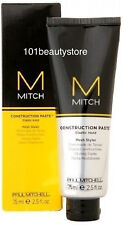 PAUL MITCHELL Mitch Construction Paste Styling Hair Paste 2.5oz / 75ml *NEW*