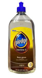 Pledge Cleaner Revive It Floor Gloss Original 27 FL OZ FREE SHIPPING