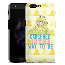 OnePlus 5 Handyhülle Case Hülle - Muppets Carefree is the way to be