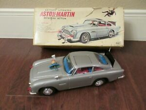 MINT & RARE 1966 ASC Battery Operated James Bond Mystery Action w/Original Box.