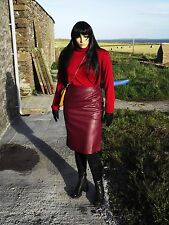 Nightingale PVC leather skirt