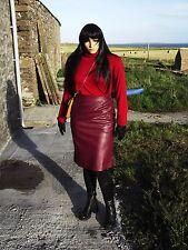Nightingale PVC leather skirt