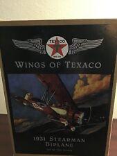 ERTL WINGS OF TEXACO LOT 1931 STEARMAN BIPLANE & 1940 GRUMMAN GOOSE! New In BOX!