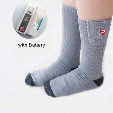 3.7V 2200mAh Battery Heated Socks Men Women Thermal Sock Outdoor Fishing Hunting