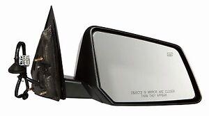 2008-2010 Saturn Outlook Passenger Side Textured no-Signal Power Heat 2nd Mirror