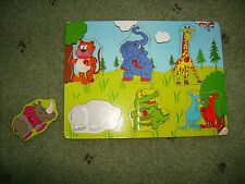 Animal Peg Puzzle