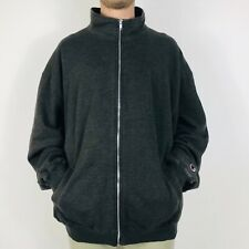 Champion Mens 2XL Dark Grey Sweat Jacket Full Zip