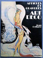 Affiches et gravures art déco, Jean Delhaye, Flammarion 1977