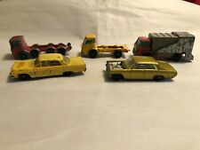 Lot of 5 Vintage Matchbox Lesney Vehicles Restore or Repair