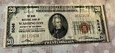 20$ THE RIGGS NATIONAL BANK OF WASHINGTON DISTRICT OF COLUMBIA