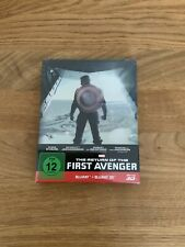 CAPTAIN AMERICA 3D Steelbook The Winter Soldier The Return of the First Avenger
