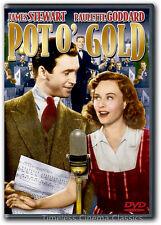 Pot O' Gold DVD New James Stewart Paulette Goddard