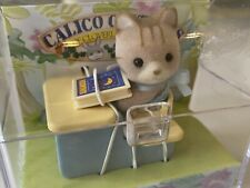 Calico Critters Baby Carry Case School Desk Babies Small Animals