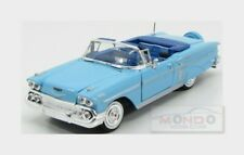 Chevrolet Chevy Impala Cabriolet 1958 Light Blue MotorMax 1:24 MTM73267LB