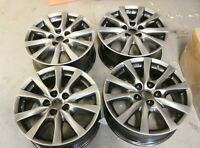 "GENUINE ORIGINAL OEM SET OF 4 MAZDA 6 17"" ALLOY WHEELS DESIGN 148 SHADOW GREY"