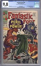 FANTASTIC FOUR #60 - CGC 9.8 - 1967 / DR. DOOM / INVESTMENT GRADE / DOUBLE COVER