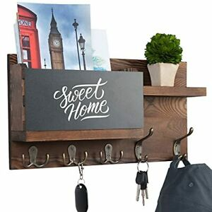 Key And Mail Holder For Wall Decorative Mail Organizer Wall Mount House Decor