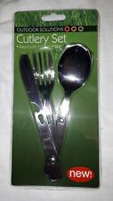 Outdoor Clip Together Cutlery Set Brand New