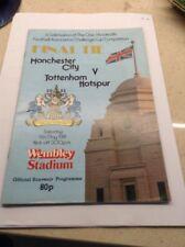 1981 Cup Final Manchester City v Tottenham Hotspur