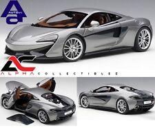 AUTOART 76043 1:18 McLAREN 570S (BLADE SILVER/SILVER WHEELS) SUPERCAR