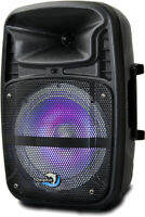 Dolphin SP-8ERBT 1350 Watt Rechargeable Bluetooth Party Speaker with LED Lights