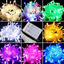 Guirlande Lumineuse LED Batterie Power Lampe 10/20/30/40/50/80 LED fête de Noël