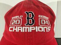 Boston Red Sox 2004 World Series Champions New Era Baseball Hat Adjustable Cap