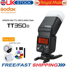 UK Godox TT350O Mini Flashgun TTL HSS 2.4G Speedlite For Olympus Panasonic+GIFT