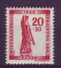 Französische Zone-Briefmarken aus Baden (ab 1945) mit Postfrisch für Bauwerke