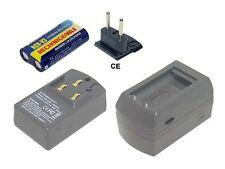 Ladegerät für OLYMPUS C-745 Ultra Zoom, C-745UZ, C-750, 1 Jahr Garantie