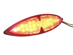 Custom LED Stop & Tail Light for Motorcycle Motorbike Quad - BLACK - BLEMISHED