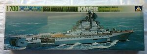 1/700 MODEL SHIP USSR AIRCRAFT CARRIER KNEB WATER LINE SERIES AOSHIMA D11-766