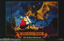 POSTER: FANTASY : THE FINAL BATTLE by HILDEBRANDT BROS.- FREE SHIP ! #591 RW18 H