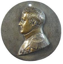 NAPOLEON BONAPARTE. Cast bronze 76mm.