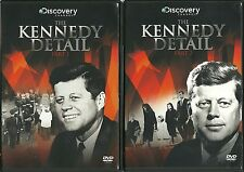 THE KENNEDY DETAIL PART 1 & PART 2  - 2 DVD SET - TOLD BY HIS OWN SECRET SERVICE