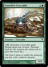Stonefare Crocodile X4 NM Duel Decks Jace vs. Vraska MTG Cards Green Common