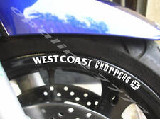STICKER LISERET AUTOCOLLANT JANTE WEST COAST CHOPPERS choppers biker tuning moto