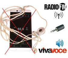 ^ic AntJack Antenna Radio Fm Vivavoce simulatore di cuffiette senza Samsung L ..
