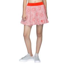LARGE Junior Girls  adidas Originals  J L  ALLOVER PRINT SKIRT  Core Red  1AVL