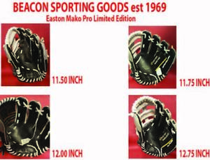 "Easton Mako Pro Limited Edition Baseball Glove 11.5"", 11.75"", 12"" or 12.75"" RHT"