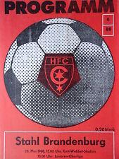 Programm 1987/88 HFC Chemie - Stahl Brandenburg