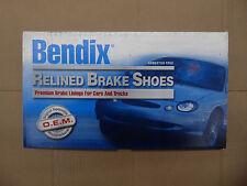 BRAND NEW BENDIX RELINED REAR BRAKES SHOES R765L FITS 2001-2003 HYUNDAI SANTA FE
