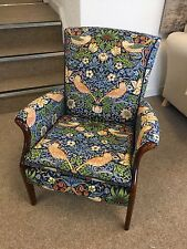 Parker Knoll Froxfield Arm Chair Accent William Morris Strawberry Thief 220313